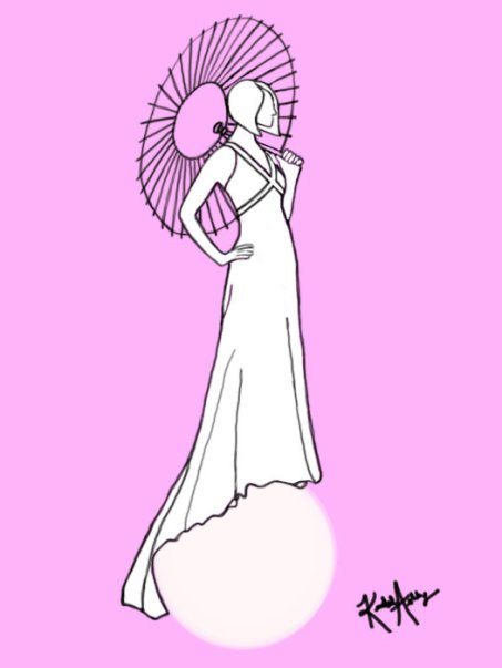 Dress Sketch #3